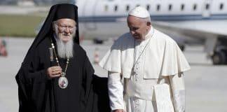 Le patriarche Bartholomée est en visite à Rome