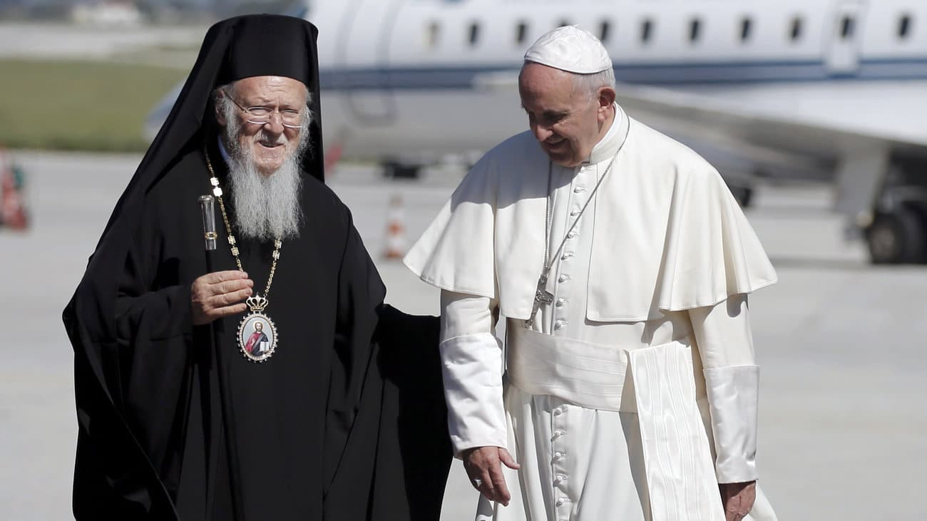 Patriarch Bartholomew is visiting Rome