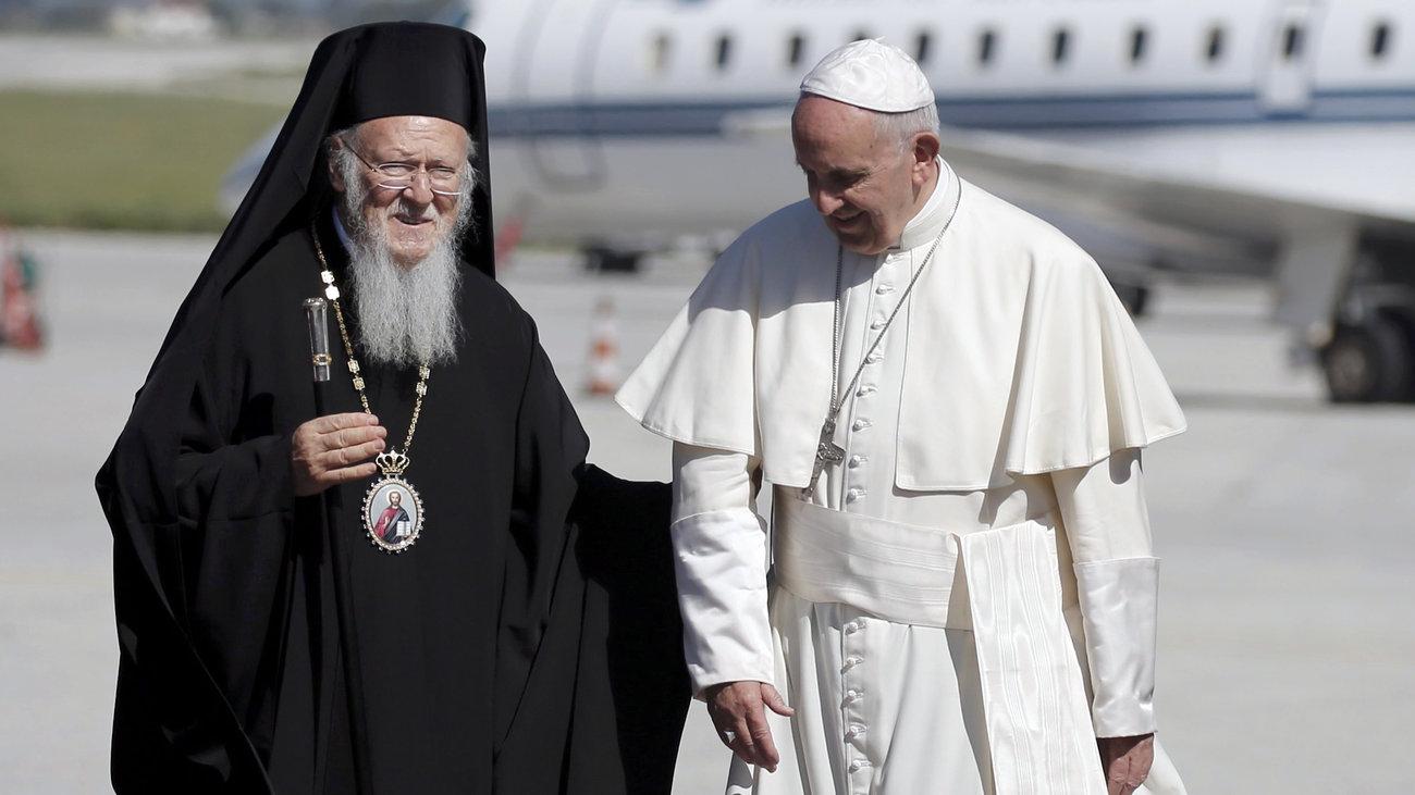 Patriarch Bartholomew is visiting Rome