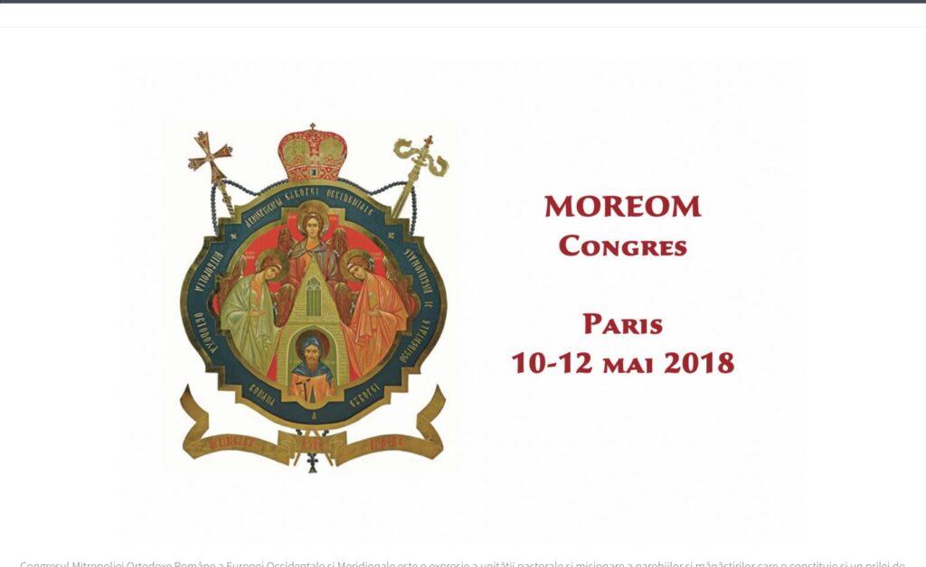 Congrès de la Métropole orthodoxe roumaine d'Europe occidentale et méridionale à Paris les 10 et 11 mai