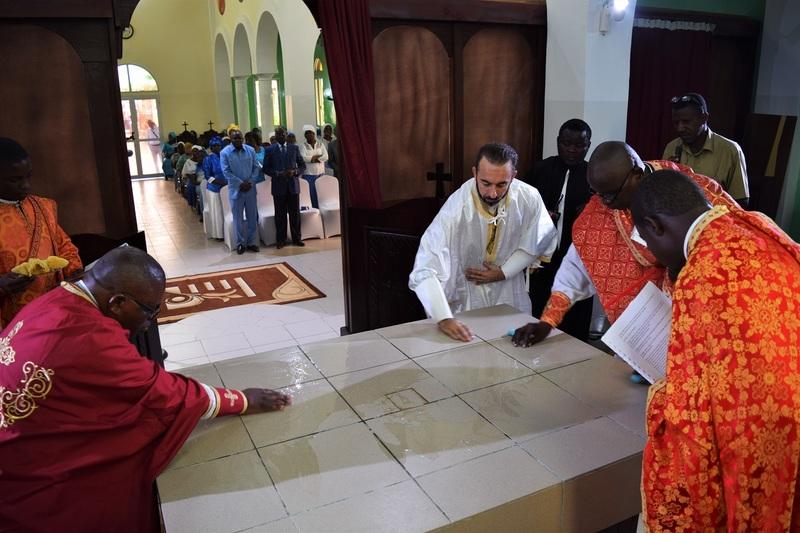 Consécration de l'église Sainte-Photinie à Pointe Noire (Congo Brazzaville)