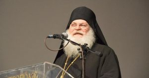The hegumen of the Athonite monastery of Vatopedi urged the Cypriot Parliament not to legalize abortion
