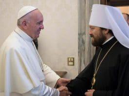 Le pape François déclare soutenir l'unité de l'Église orthodoxe russe