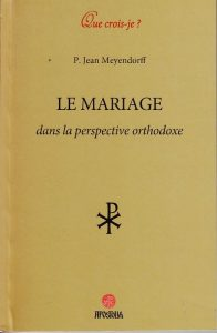 « Orthodoxie » (France-Culture) : « Le mariage dans la perspective orthodoxe (II) »