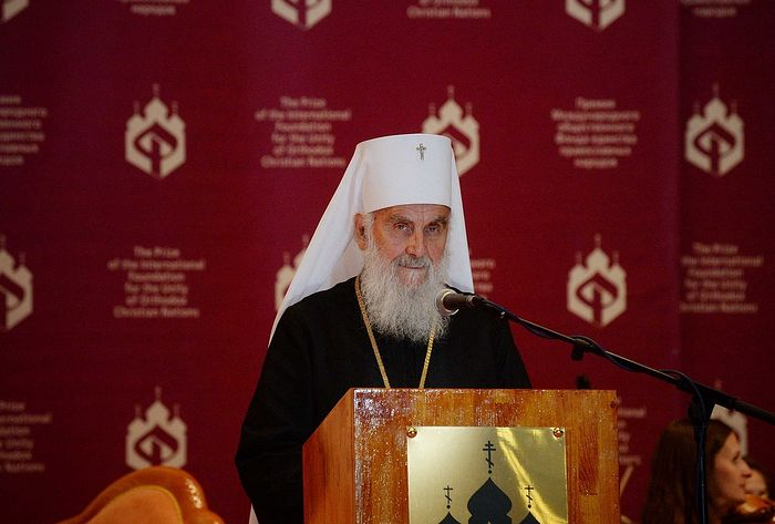 His Holiness Patriarch Irinej of Serbia: Anyone who helps Ukrainian schismatics is an enemy of Orthodox Slavic nations and the whole Orthodox world
