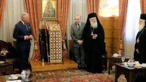 Meeting between Prince Charles and Archbishop Ieronymos of Athens