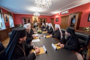 First official message of the Holy Synod of the Ukrainian Orthodox Church about the initiative of the Patriarch of Constantinople, concerning the granting of autocephaly to Ukrainian schismatics