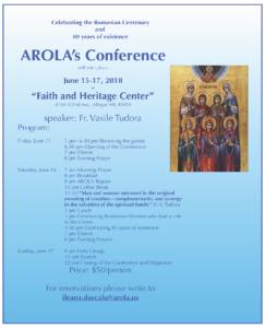 June 2018 AROLA Conference