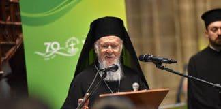 Homélie du patriarche œcuménique Bartholomée pour le 70e anniversaire du Conseil œcuménique des Églises