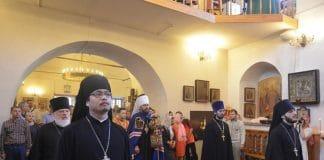 Le métropolite Hilarion de Volokolamsk a célébré au métochion chinois de Moscou