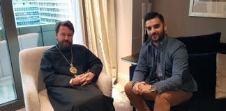 Le métropolite de Volokolamsk Hilarion : « Le patriarche Bartholomée s'est engagé à ne pas légaliser le schisme ! »