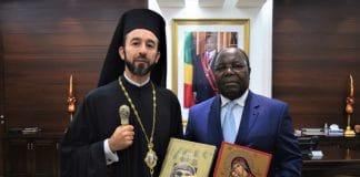 Rencontre du métropolite de Brazzaville avec le premier ministre du Congo