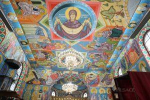 Les fresques de l'église Saint-Côme et Saint-Damien à Pulversheim (Alsace) viennent d'être terminées