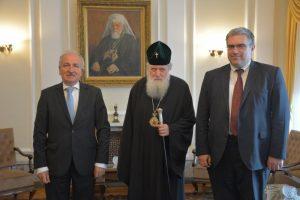 Le patriarche de Bulgarie Néophyte a reçu l'ambassadeur d'Ukraine et l'envoyé spécial du président ukrainien pour les affaires religieuses