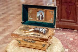 Les reliques de saint Séraphin de Sarov à Londres