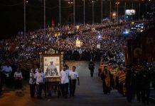 Vidéo – Russie, Ekaterinbourg : la procession avec le patriarche Cyrille pour le centenaire de l'assassinat du tsar Nicolas II et de la famille impériale
