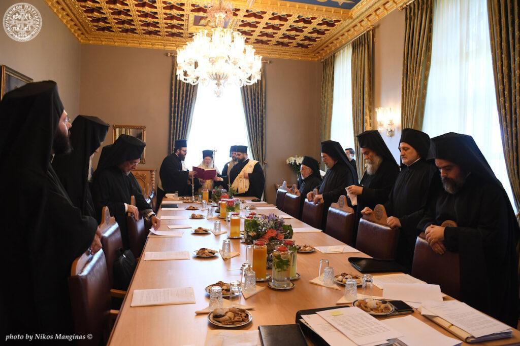 L'archimandrite Maxime Pothos est élu métropolite de Suisse du Patriarcat œcuménique, en remplacement de Mgr Jérémie, élu métropolite d'Ankara
