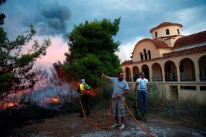 Déclaration du Patriarche œcuménique Bartholomée au sujet des incendies en Attique et dans d'autres régions de Grèce
