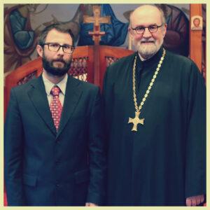 Le Dr. Ionuţ-Alexandru Tudorie est nommé Doyen académique du Séminaire Saint-Vladimir de New York