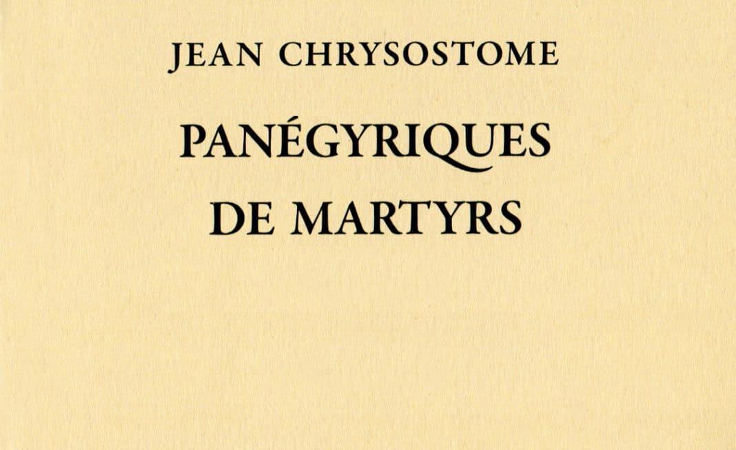 Recension: Jean Chrysostome, «Panégyriques de martyrs», tome I