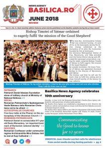 La sélection mensuelle de l'agence de presse du Patriarcat de Roumanie, Basilica