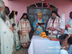 Blessing of a second Orthodox church at the foot of Mount Kilimanjaro