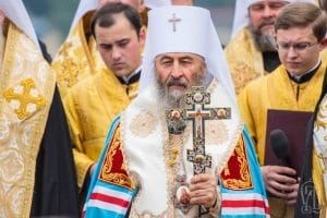 On Ukraine's Independence Day, Metropolitan Onufriy of Kyiv reminded Ukrainians what true freedom is