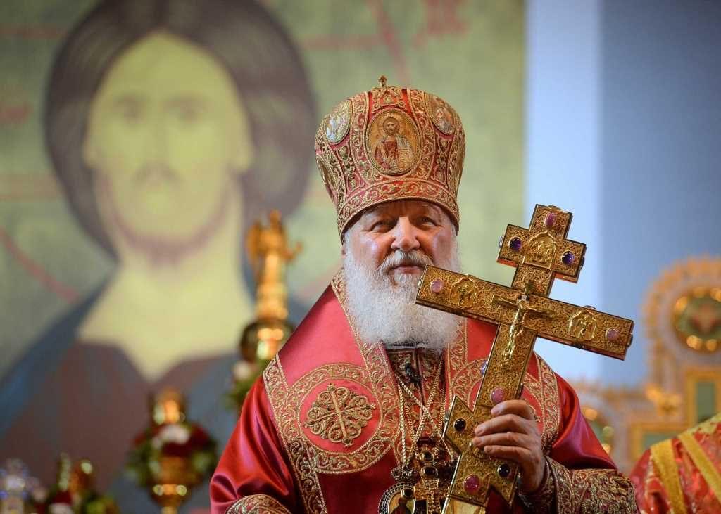 Homélie du patriarche de Moscou Cyrille à Ekaterinbourg