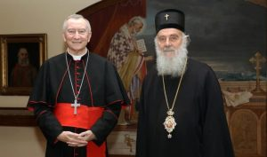 "Patriarch Irinej of Serbia: ""I remain on my position, the time has not come for the visit of the Pope to Serbia"""