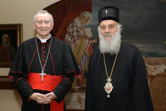 """Patriarch Irinej of Serbia: """"I remain on my position, the time has not come for the visit of the Pope to Serbia"""""""