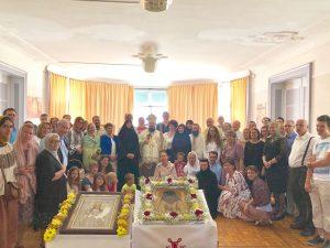Fête patronale du monastère orthodoxe roumain des Sciernes d'Albeuve (Suisse)