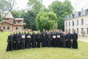 Ordination presbytérale du hiérodiacre Pierre Smirnov au Séminaire orthodoxe russe
