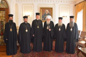 Patriarch of Bulgaria Neophyte met with representatives of the Ecumenical Patriarchate