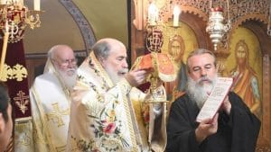 The Synaxis of the Twelve Apostles celebrated in Tiberias