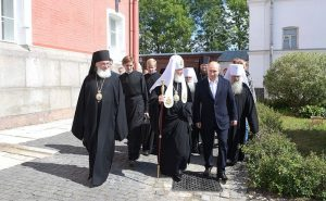 President Putin visited the monastery of Valaam