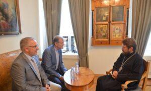 Rencontre du président du DREE avec un groupe de chrétiens suisses