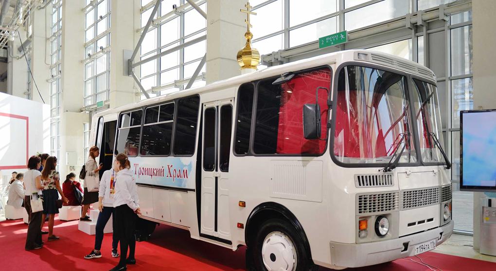 Le seul « autobus-église » de Russie a été présenté à Moscou