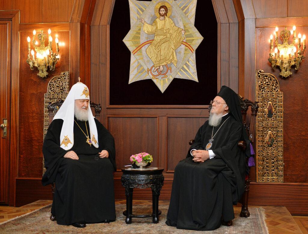 En exclusivité: extraits de la discussion entre le patriarche de Constantinople et le patriarche de Moscou