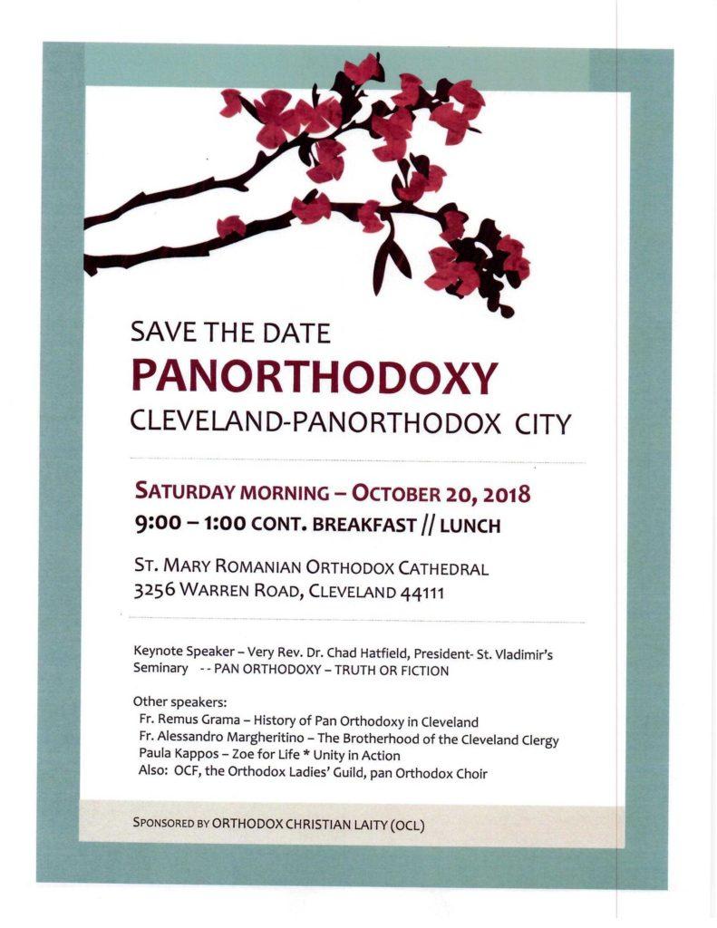 Cleveland panorthodox