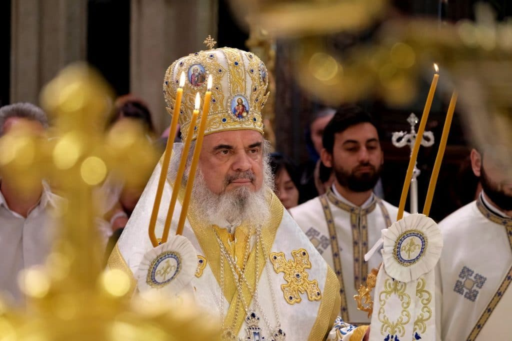 Feast of the Dormition of the Mother of God in Bucharest Cathedral (video)