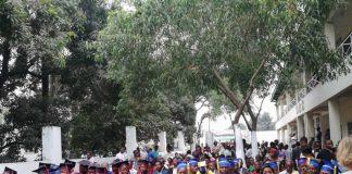 Remise des diplômes à l'Université orthodoxe de Kinshasa (Congo)