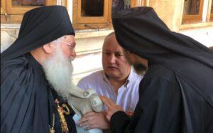 Moldovan President Igor Dodon will climb Mount Athos