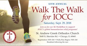 Walk for International Orthodox Christian Charities
