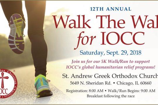 Walk for International Orthodox Christian Charities