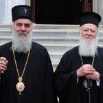 Le patriarche de Serbie Irénée adresse une protestation au patriarche de Constantinople Bartholomée au sujet de « l'autocéphalie » ukrainienne et d'autres entités schismatiques semblables