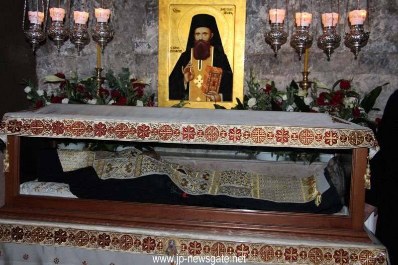 Fête de saint Jean le Nouveau au désert de Judée
