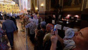 Plus de 50.000 fidèles ont vénéré à Krasnodar les reliques de saint Spyridon