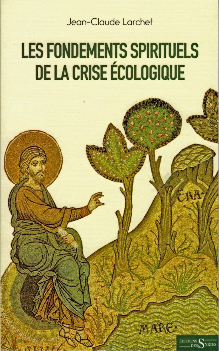 """The ecological crisis is first of all a spiritual crisis"""