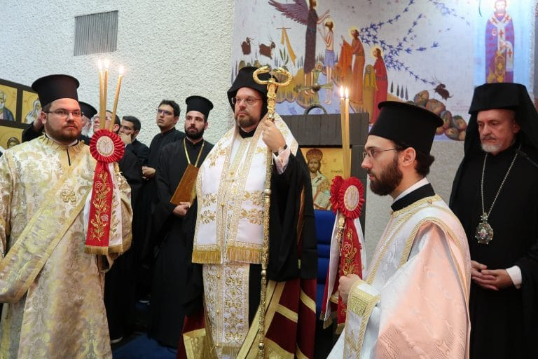 Newly enthroned Metropolitan Maxime of Swizterland