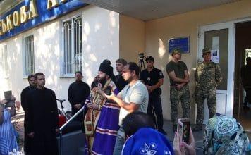 Les militaires ukrainiens ont empêché aux orthodoxes de l'Église canonique l'accès à leur église à Odessa